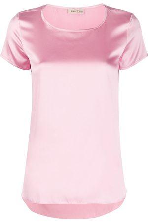 BLANCA Tania silk T-shirt