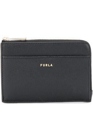 Furla Logo plaque zip purse