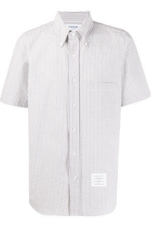 Thom Browne Short Sleeve Seersucker Shirt