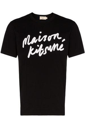 Maison Kitsuné Logo-print cotton T-shirt