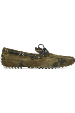 CAR SHOE Camouflage driver loafers
