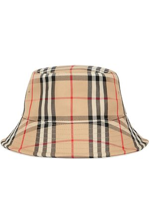 Burberry Senhora Chapéus - Vintage Check bucket hat