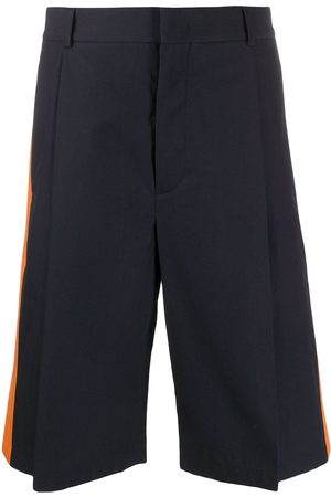 VALENTINO Contrast panel tailored shorts
