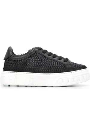 Casadei Woven off-road sneakers