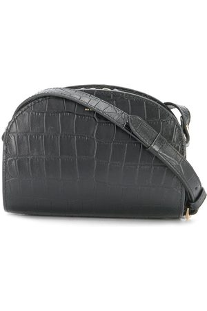A.P.C Demi crocodile-effect half-moon bag