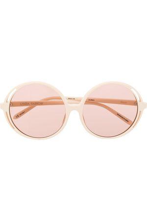 Linda Farrow Bianca round frame sunglasses