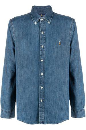 Polo Ralph Lauren Button-down logo denim shirt