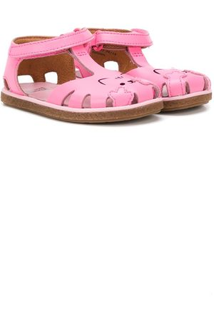 Camper Perforated cat sandals