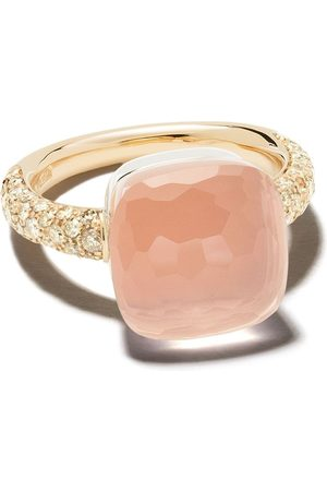 Pomellato 18kt rose gold stone ring