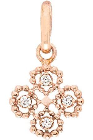 GIGI CLOZEAU 18kt lucky clover diamond charm