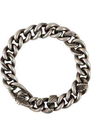 WERKSTATT:MÜNCHEN Homem Pulseiras - Embellished chain bracelet