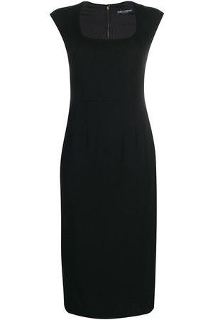 Dolce & Gabbana Short-sleeve fitted dress