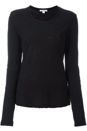 James Perse Senhora Manga comprida - Round neck longsleeved T-shirt
