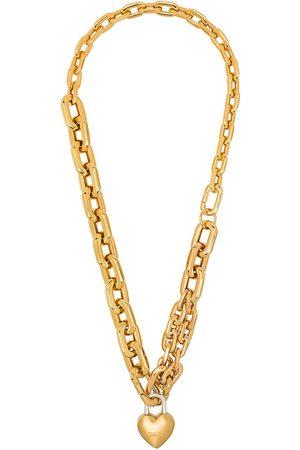 AMBUSH Heart padlock necklace