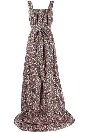 La DoubleJ Mimosa daisy print short dress