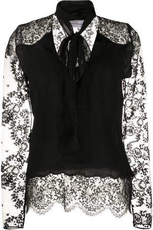 FAITH CONNEXION Senhora Blusas - Lace sleeve blouse