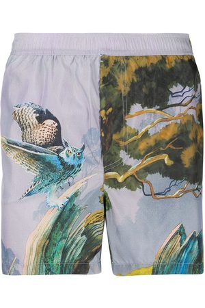 VALENTINO Floating Island swim shorts