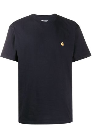 Carhartt Logo embroidered crew neck T-shirt