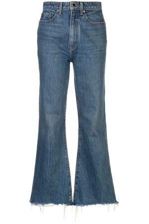 Khaite Senhora Jeans - Gabbie cropped jeans