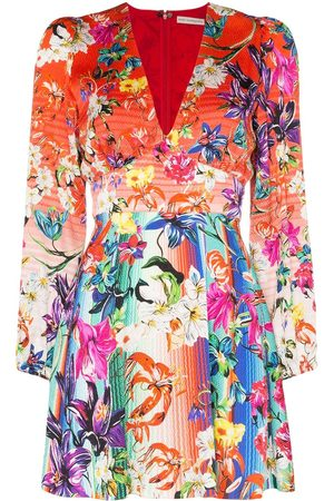 Mary Katrantzou Bloom floral print mini dress