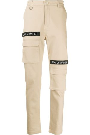 Daily paper Logo patch cargo pants