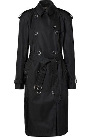Burberry Senhora Gabardinas - Press-stud detail trench coat