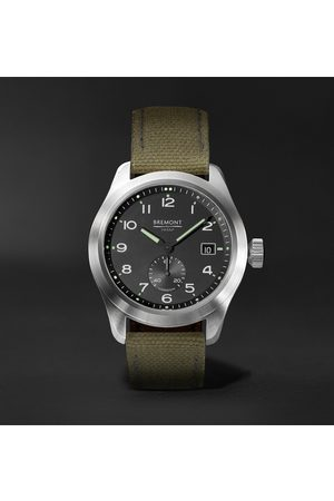 Bremont Homem Relógios - Broadsword Automatic Chronometer 40mm Stainless Steel And Sailcloth Watch, Ref. No. Hmaf