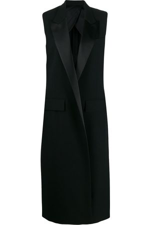 Ami Senhora Blazers - Sleeveless long-line waistcoat
