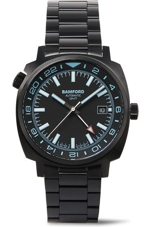 Bamford Watch Department Homem Relógios - Gmt Automatic 40mm Brushed Stainless Steel Watch