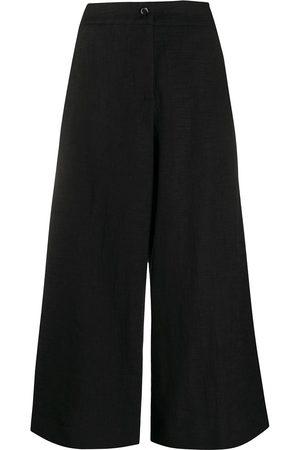 La DoubleJ High-waisted wide leg trousers