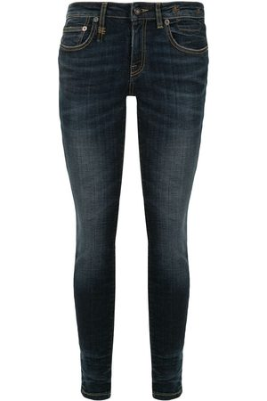 R13 Low rise skinny jeans