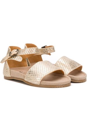 PèPè Diamond pattern sandals