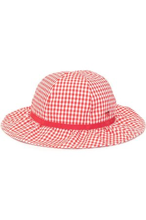 Familiar Checkered sun hat