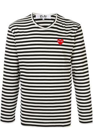 Comme des Garçons Homem T-shirts & Manga Curta - Embroidered logo T-shirt
