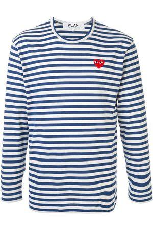 Comme des Garçons Striped basic T-shirt
