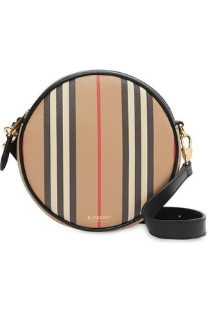 Burberry Senhora Malas - Icon Stripe E-canvas Louise bag