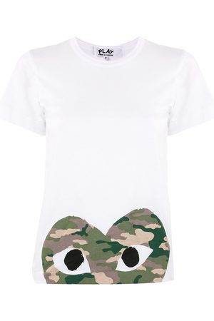 Comme des Garçons Logo-print crew neck T-shirt