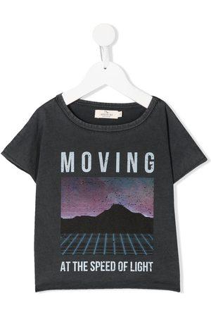 Le pandorine Graphic-print cotton T-shirt