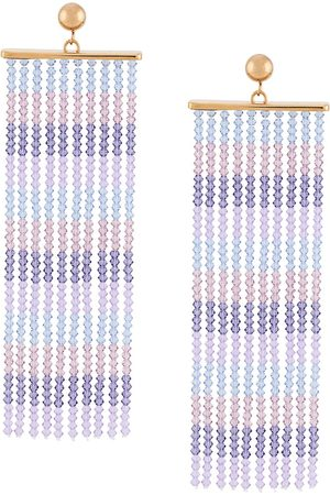 Jacquemus Beaded fringe earrings