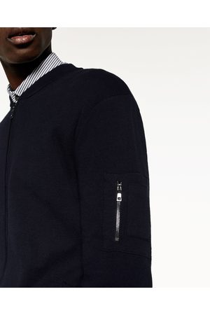 Homem Camisolas - Zara BOMBER MALHA - Disponível em mais cores
