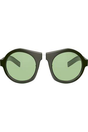 Prada Eyewear Oversized round frame sunglasses