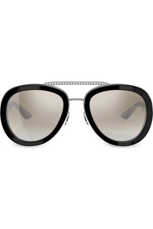 Miu Miu Eyewear Embellished aviator sunglasses