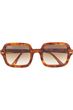 Ray-Ban Tortoiseshell oversized-frame sunglasses