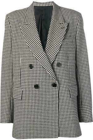 Ami Paris Lined Oversized Double-Breasted Jacket