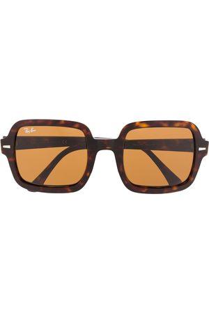 Ray-Ban Tortoiseshell tinted sunglasses