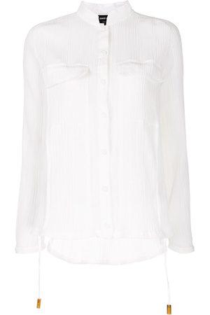 Giorgio Armani Sheer pocket shirt