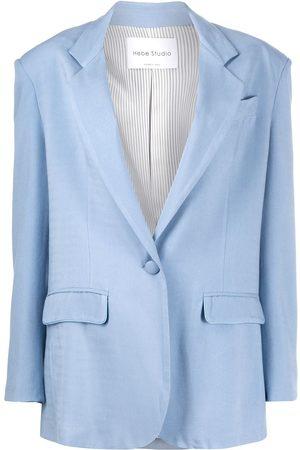 Hebe Studio Tailored single-breasted blazer
