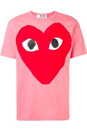 Comme Des Garçons Play Oversized heart print T-shirt