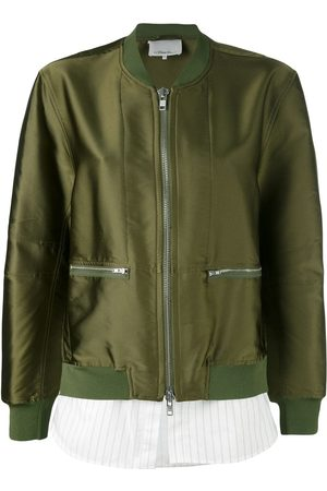 3.1 Phillip Lim Tromp L'oeil Bomber Jacket