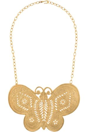 Katheleys Vintage Kenneth Lane Butterfly Sex and the City necklace